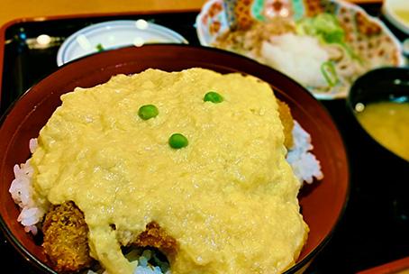 玉子カツ丼